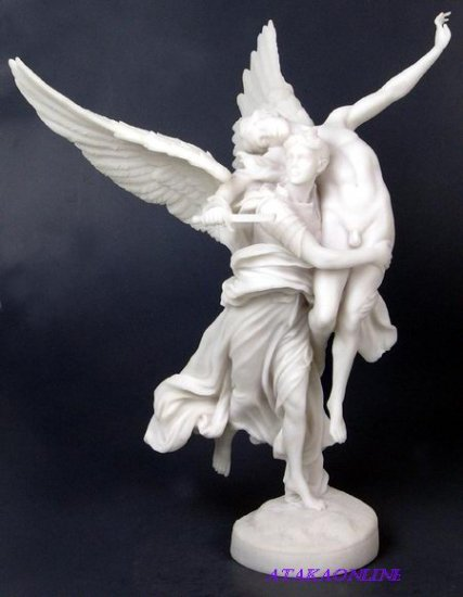WINGED FAME-GREEK MYTHOLOGY-ROMAN-SCULPTURE-ARTWORK-MUSEUM COLLECTION (6441)