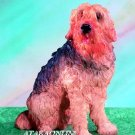 OTTERHOUND DOG FIGURINE (5155)