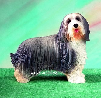 BEARDED COLLIE-Beardie- DOG FIGURINE (5148)