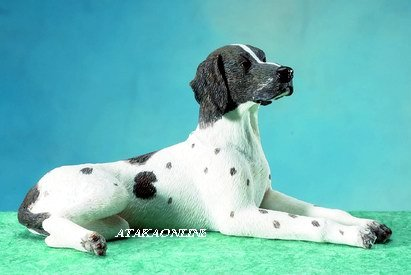ENGLISH POINTER DOG FIGURINE-POINTER (5675)
