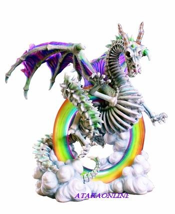 DRAGON GUARDIAN OF THE OCEAN GATES-FIGURINE-STATUE (6207)