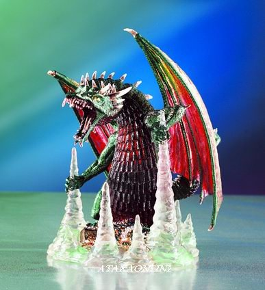 SPIRIT DRAGON-FIGURINE-STATUE (4016)