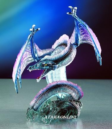SPIRIT DRAGON-FIGURINE-STATUE (4018)