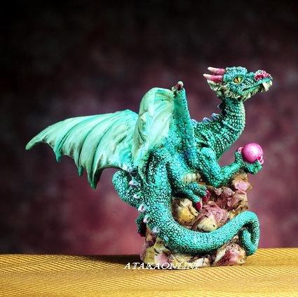 SMALL DRAGON FIGURINE-STATUE (4749)