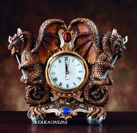 DRAGON CLOCK (4051)