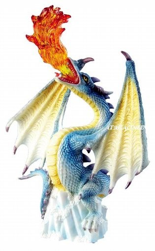 SPIRIT DRAGON-FIGURINE-STATUE (6286)