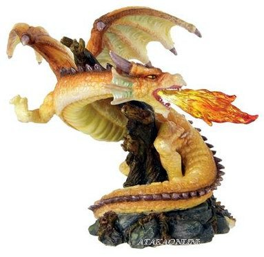 SPIRIT DRAGON-FIGURINE-STATUE (6290)