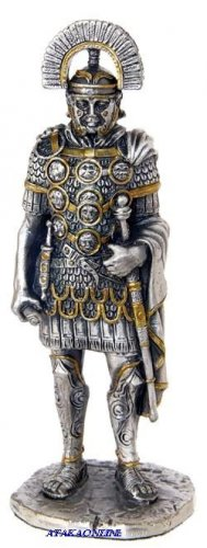 ROMAN OFFICER W SWORD-PEWTER-FIGURINE (6271)