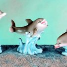 SET OF 3-DOLPHINS-FIGURINES-DISPLAY-FUN (5563)