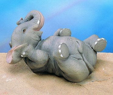 SMALL ELEPHANT-FIGURINE-DISPLAY-FUN (4831)