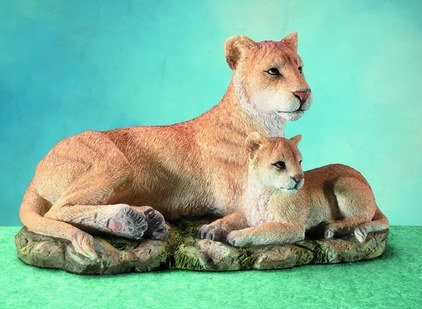 LIONESS W CUB-FIGURINES-DISPLAY-FUN (5826)