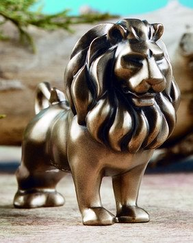 ARTISTIC LION-FIGURINE-DISPLAY-FUN (5892)