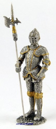 MEDIEVAL WARRIOR-PEWTER-FIGURINE (6603)