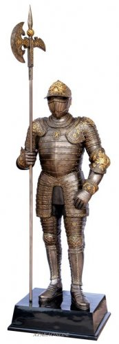 MEDIEVAL LIFE SIZE WARRIOR (6638)
