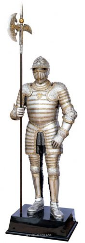 MEDIEVAL LIFE SIZE WARRIOR (6637)