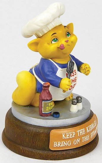 CHEF CAT-CUTIE-FIGURINE (6550)