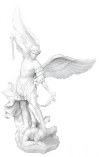 SAINT-ST. MICHAEL STATUE-SCULPTURE-CHRISTIANITY-FINEST (6306)