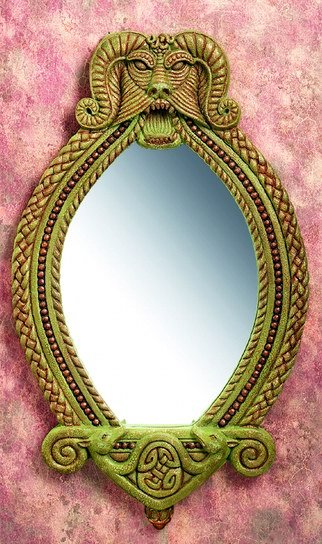 CELTIC MIRROR-VERY DETAILED-LIMITED EDITION (5936)