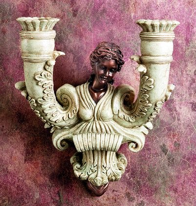 VENUS WALL CANDLEHOLDER-LIMITED EDITION (5933)