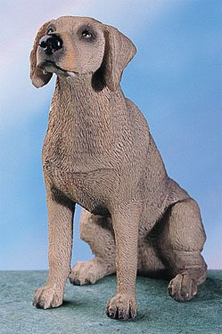 WEIMARANER DOG FIGURINE (4766s)