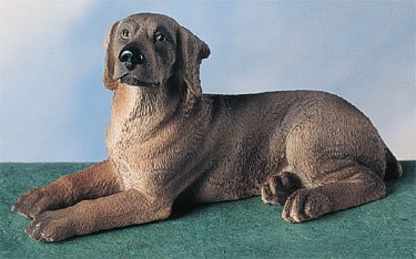 WEIMARANER DOG FIGURINE (4583s)