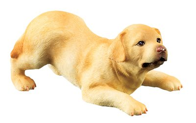 LABRADOR PUPPY-DOG FIGURINE CUTE (6314s)