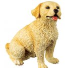 GOLDEN RETRIEVER PUPPY-DOG FIGURINE CUTE (6318s)