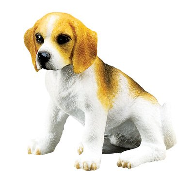 BEAGLE PUPPY-DOG FIGURINE CUTE (6315s)
