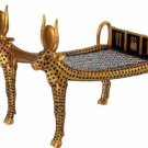 PHARAOH'S COW BED-GOLDEN-FIGURINE-STATUE (6085s)