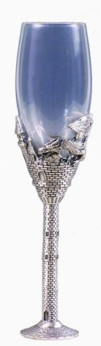 DRAGON CHAMPAGNE GLASS-GOBLET (5335)