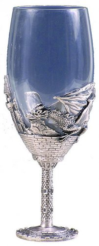 DRAGON WINE GLASS-GOBLET (5331)