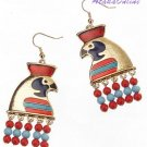 HORUS EARRINGS-ANCIENT EGYPT-EGYPTIAN FINE JEWELRY (2321s)