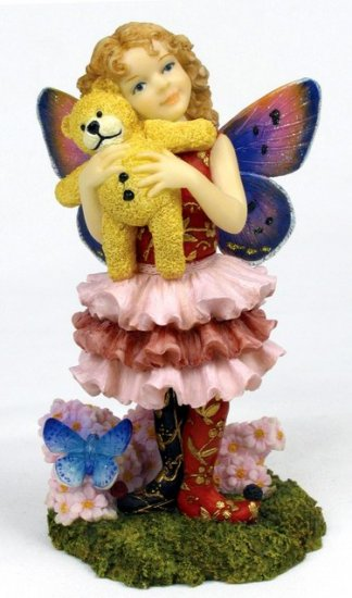 LITTLE BEAR HUG FAIRY-FIGURINE-STATUE (6680)