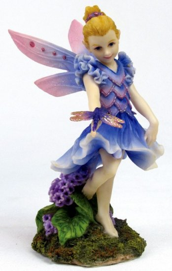 LITTLE DANCING FAIRY-FIGURINE-STATUE (6684)