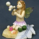 LITTLE FAIRY PLAYING AT BEACH-FIGURINE-STATUE (6777)