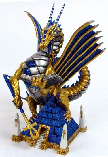 AAPEP-SERVANT OF RA-DRAGON-FIGURINE-STATUE (6700)