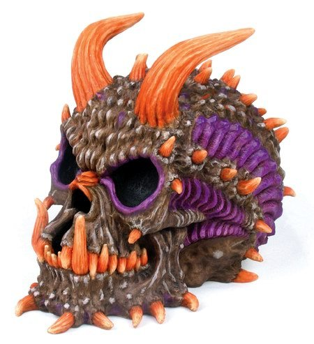 DEMON SKULL SAVING BANK-FIGURINE-STATUE (6644)
