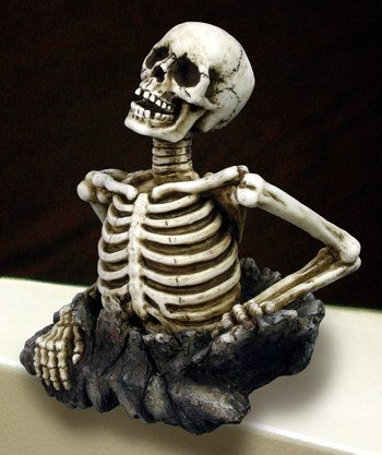 SKELETON PC TOPPER-FIGURINE-STATUE (6774)