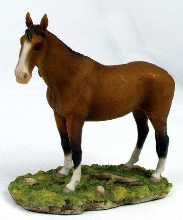 AKHAL-TEKE-HORSE-FIGURINE-STATUE (6667)