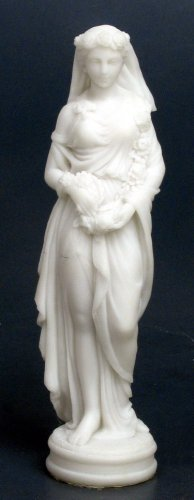 SPRING LADY FIGURINE-GREEK FIGURINE-STATUE (6735)