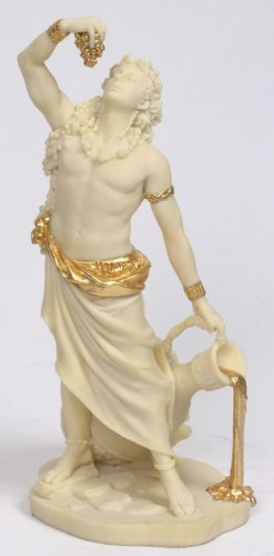 DIONYSUS-GOD OF WINE-GREEK MYTHOLOGY-ROMAN FIGURINE (6911)