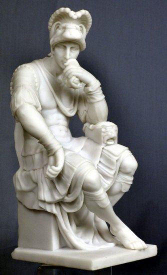 LORENZO DE MEDICI-GREEK MYTHOLOGY-ROMAN FIGURINE (6901)