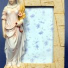 SUMMER LADY PICTURE FRAME-GREEK MYTHOLOGY-ROMAN FIGURINE (6839)