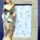 AUTUMN LADY PICTURE FRAME-GREEK MYTHOLOGY-ROMAN FIGURINE (6840)