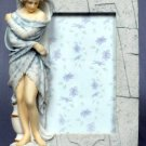 WINTER LADY PICTURE FRAME-GREEK MYTHOLOGY-ROMAN FIGURINE (6841)