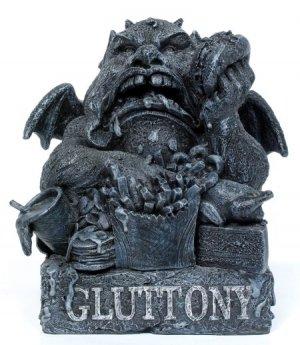 GARGOYLE-GLUTTONY-STATUE-FIGURINE (6967)