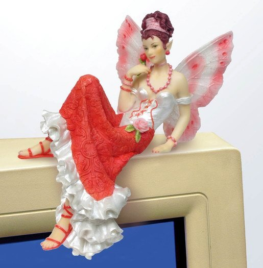 PRINCESS FAIRY PC TOPPER-FIGURINE-STATUE BY DEBBY KASPARI (6973)