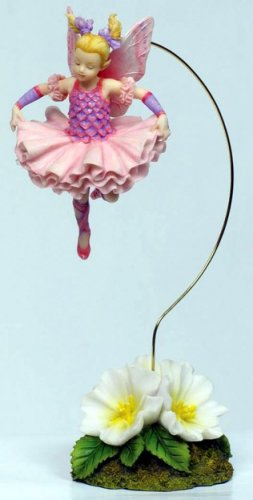 LITTLE BIRD FAIRY DANGLER-FIGURINE-STATUE BY DEBBY KASPARI (6979)
