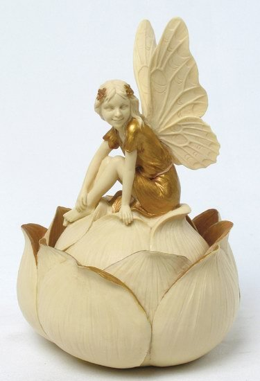 ART NOUVEAU FAIRY JEWELRY BOX (6932)