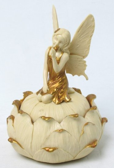ART NOUVEAU FAIRY JEWELRY BOX (6930)